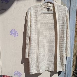 Vintage Style Cable Knit Cardigan